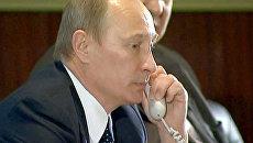 Путин поговорил с экипажем МКС о покушении на американского политика