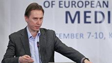 Первый заместитель главного редактора РИА Новости Максим Филимонов. Архив
