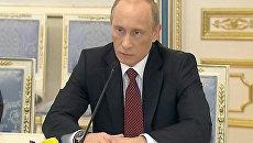 Путин похвалил Януковича за атмосферу доверия и желание сотрудничать