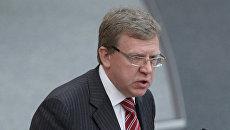 Министр финансов РФ Алексей Кудрин . Архив