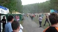 Драка на рок-фестивале «Ураган-2010» в Миассе