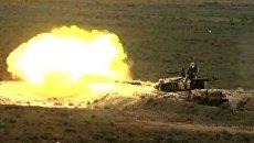 Антитеррористические учения Рубеж-2010. Видео с военного полигона
