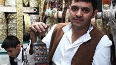 Йеменского мужчину видно по кинжалу