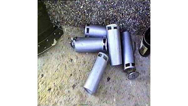 Кассетная бомба. Архивное фото