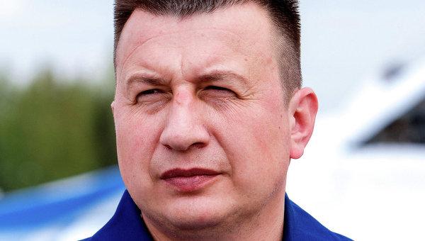 Командир пилотажной группы Стрижи подполковник Валерий Морозов