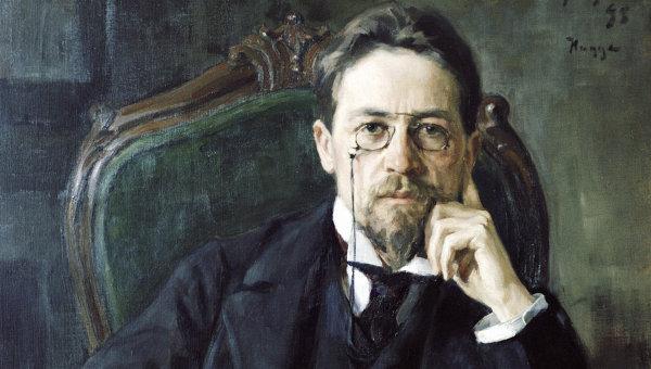 Репродукция картины Портрет А. П. Чехова. Архивное фото