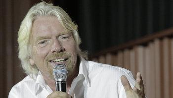 Основатель корпорации Virgin Ричард Брэнсон. Архивное фото