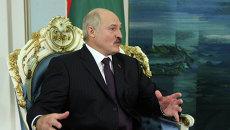 Пезидент Республики Белоруссии Александр Лукашенко. Архив