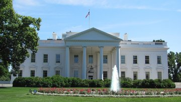 Белый дом в Вашингтоне