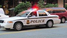 Американская полицейская машина. Архивное фото