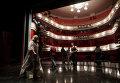 Участники фестиваля Юбилей-OFF, посвященного 90-летию Московского академического театра имени Вл. Маяковского