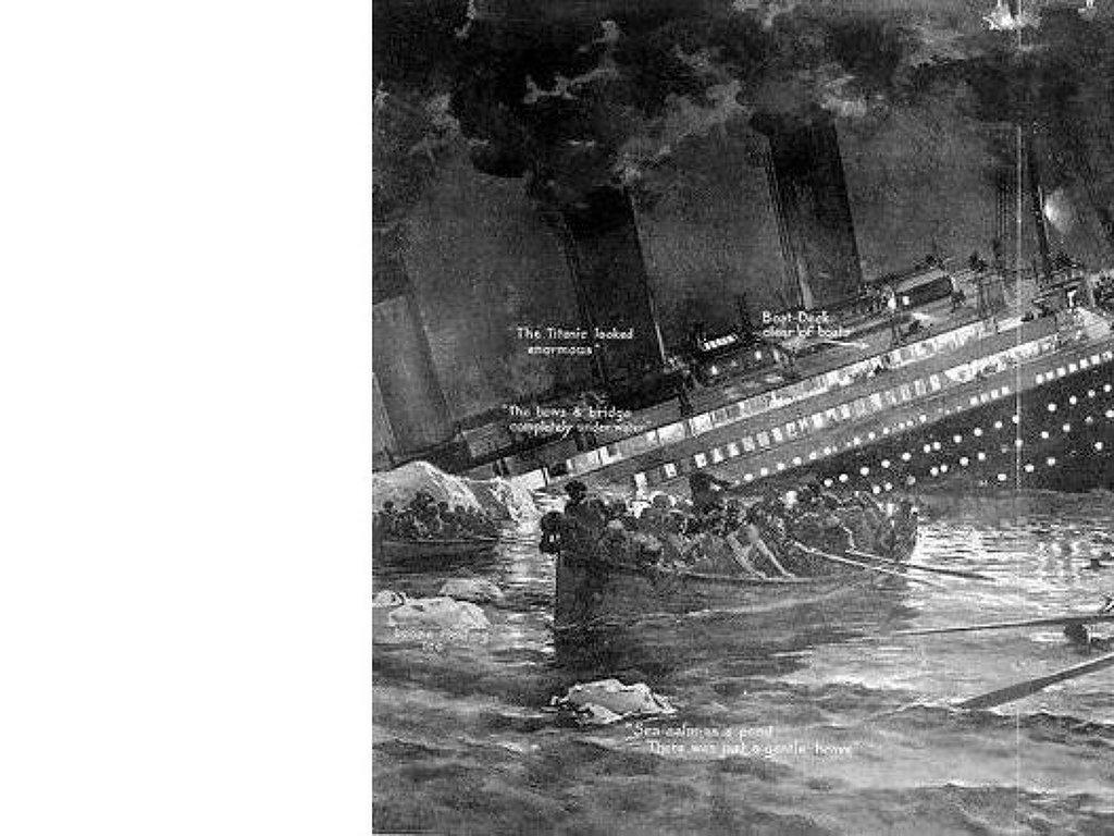 Иллюстрация Титаник