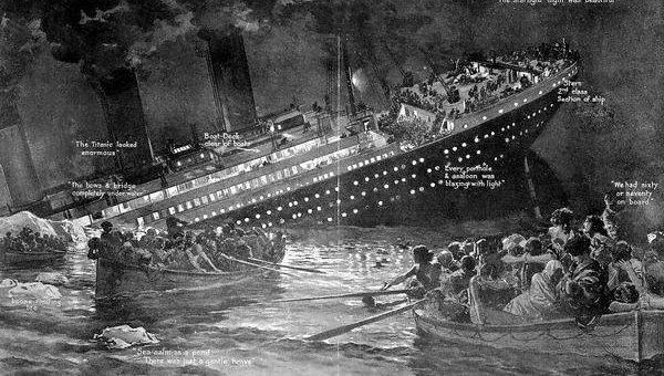 """Картинки по запросу лайнер """"Титаник"""" столкнулся с айсбергом и затонул"""