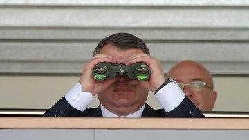 Министр обороны РФ Анатолий Сердюков посетил Российскую выставку вооружения. Нижний Тагил – 2011
