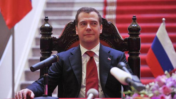 Официальный визит Д.Медведева во Вьетнам. Архив