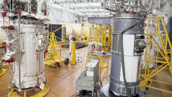 Космические аппараты системы ГЛОНАСС. Архивное фото