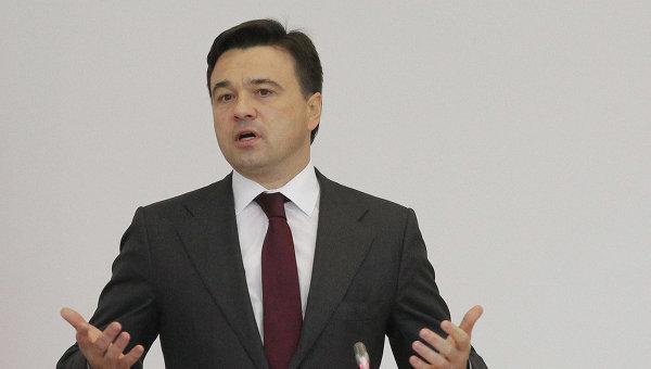 А.Воробьев представлен в должности и.о. губернатора Московской области