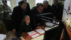 Работа таможенного терминала на территории предприятия Альфа-Транс, город Смоленск