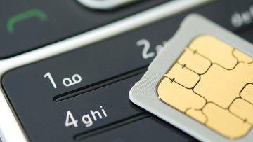 SIM-карта и мобильный телефон