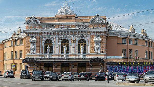 Большой Санкт-Петербургский государственный цирк на Фонтанке. Архивное фото.