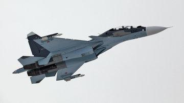 Истребитель Су-30 СМ ВВС России. Архивное фото