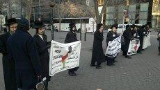 Демонстрации в поддержку палестинского государства