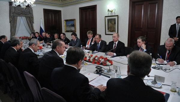 Рабочий визит президента РФ Владимира Путина в Турцию