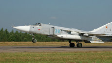 Боевой самолет Су-24. Архивное фото