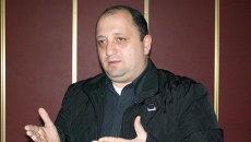Главный редактор газеты Сакартвело да мсоплио (Грузия и мир) Ираклий Тодуа