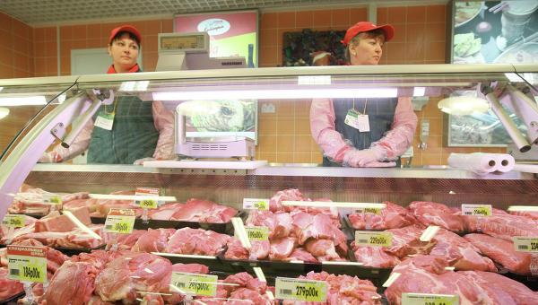 Продажа мяса и мясных продуктов
