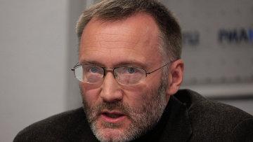 Генеральный директор Центра политической конъюнктуры Сергей Михеев