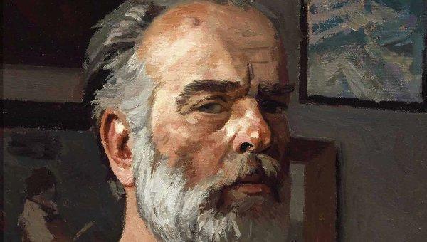 Гелий Коржев. Автопортрет