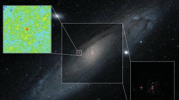 Микроквазар, обнаруженный рентгеновскими телескопами XMM-Newton и Swift в галактике Андромеды