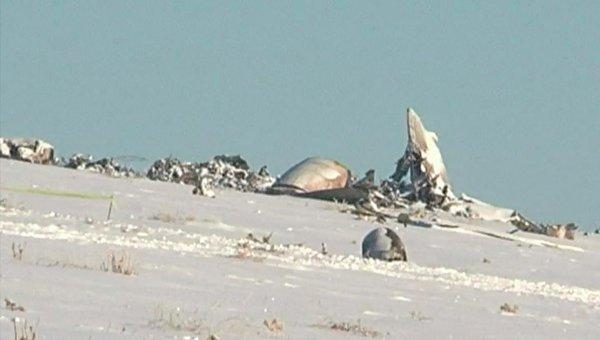 Крушение военного самолета в Казахстане