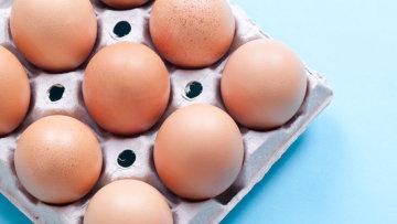 Яйца, архивное фото