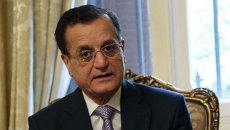 Министр иностранных дел республики Ливан Аднан Мансур. Архив