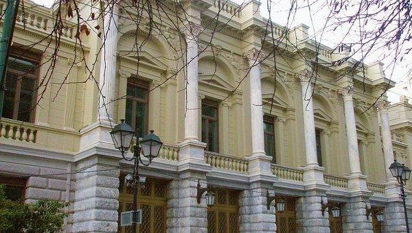Национальный театр Греции. Архивное фото