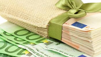 Банкноты евро. Архивное фото