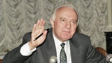 Председатель Госсовета Грузии Э. А. Шеварднадзе. Архивное фото
