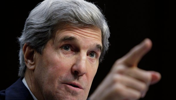 Cенатор Джон Керри, кандидатуру которого на пост госсекретаря США рассматривает комитет сената