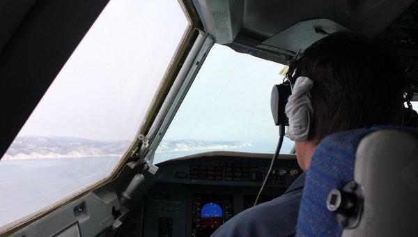 Пилот самолета, архивное фото