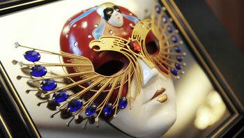 Символ Национальной театральной Премии и фестиваля Золотая маска