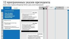 12 программных указов президента