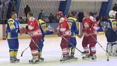 Лучшие моменты матча Легенд хоккея СССР со сборной Набережных Челнов