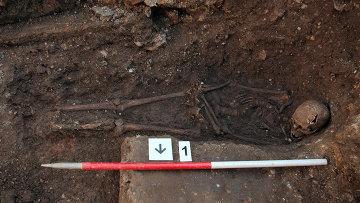 Останки короля Ричарда III, найденный во время раскопок в городе Лестер