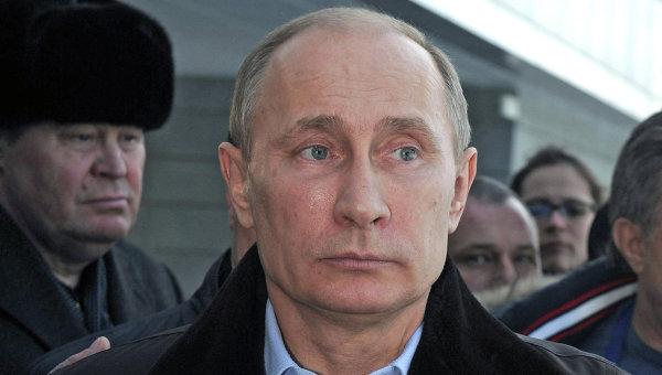 В.Путин осмотрел объекты горного кластера к Олимпиаде в Сочи
