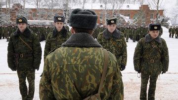 Воинская часть в поселке Новоселицы Новгородской области