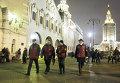 Народные дружинники патрулируют территорию Казанского вокзала