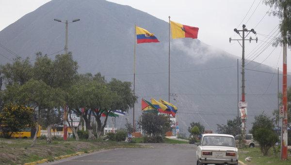 Окрестности столицы Эквадора Кито. Архивное фото