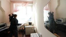 Последствия метеоритного дождя в Челябинске, архивное фото